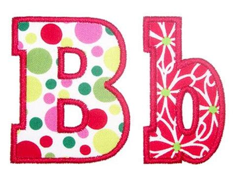 free printable alphabet templates for applique have chunky applique alphabet embroidery boutique