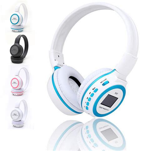 Headset Bluetooth Dilipat 170508fe 17 Zealot N85 Headphone With Fm Radio Tf Slot Mic Black