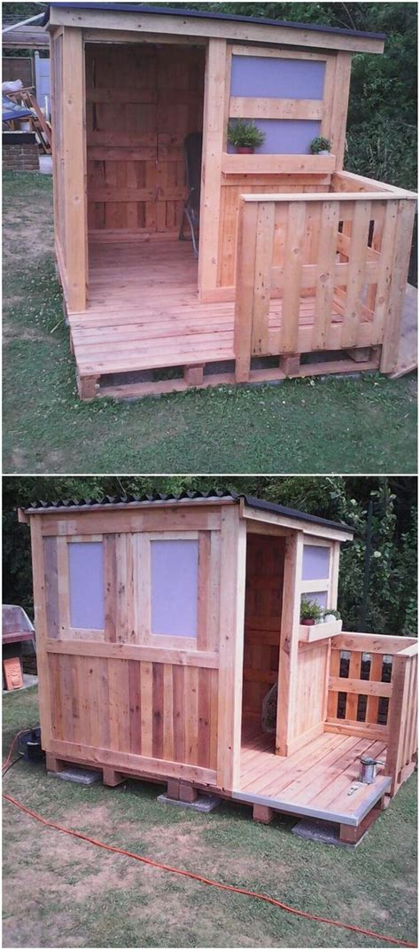 Wood Pallet Garden Shed by Creative Diy Pallet Ideas To Try Out This Weekend Pallet
