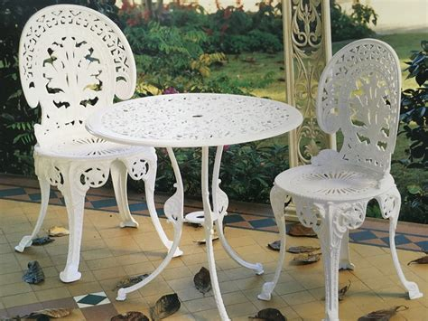 cast iron garden table colonial castings cast aluminium outdoor furniture