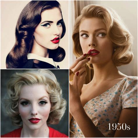hair and makeup in the 1950s 1950 s makeup and hair tutorial mugeek vidalondon