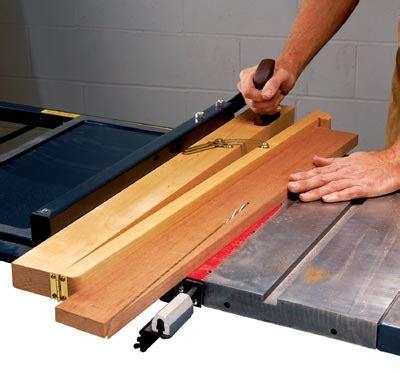 table saw angle jig true cut taper jig
