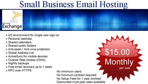 best email hosting services small business email hosting best email hosting