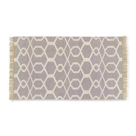 Gray Kitchen Rugs Scroll Tile Kitchen Rug Gray Williams Sonoma