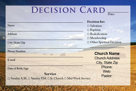 church response card template visitor cards printing calvary publishing