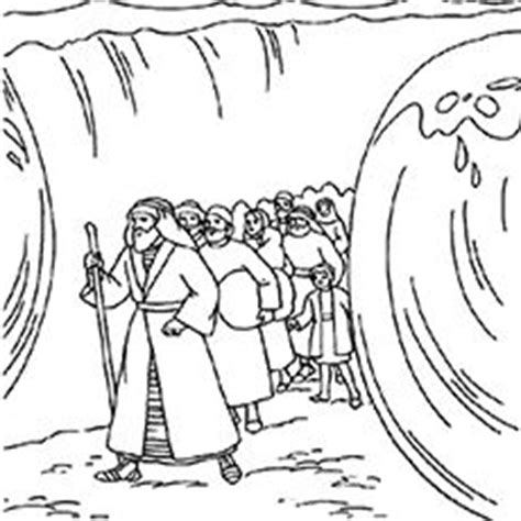 preschool bible coloring pages moses 1000 ideas about parting the red sea on pinterest