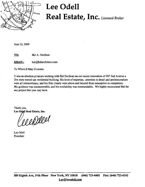 letter of occupancy template letter recommendation for template letter