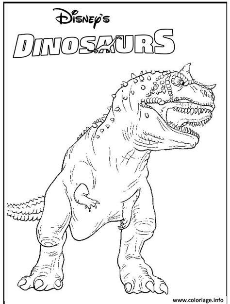 Coloriage Dinosaure 317 Dessin