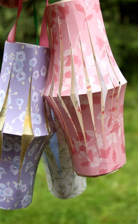 How To Make Easy Paper Lanterns - make paper lanterns 187 dollar store crafts