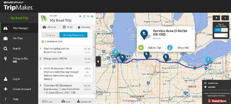 road trip map maker usa maps mania the rand mcnally trip planner