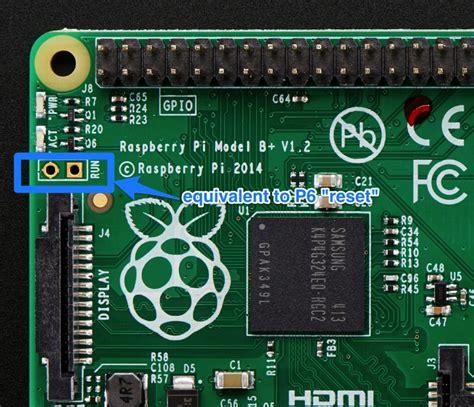 making  reset switch   raspberry pi model  run