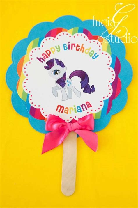 my little pony printable party decorations my little pony birthday party ideas photo 5 of 10