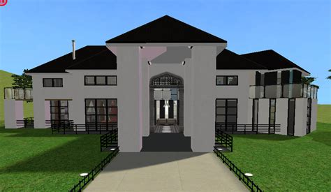 building a mansion mod the sims modern mansion build mode cc only
