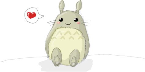 imagenes kawaii de totoro kawaii totoro by ann rentgen on deviantart