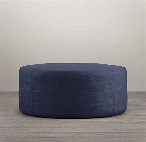 36 round ottoman 36 quot cooper upholstered round ottoman ottoman stools