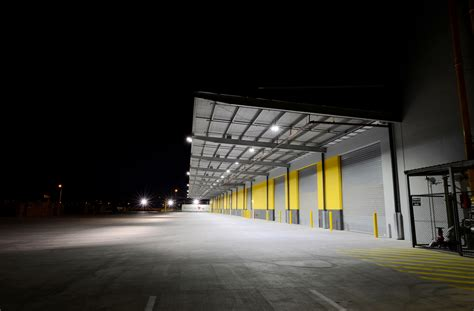 outdoor lighting warehouse study how oztrail warehouse saved 60 energy with