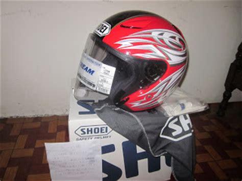 Helmet Shoei Tyr fahmy hattan july 2011