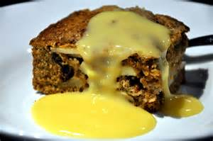 Ginger Cake With Spiked Custard Recipe Dishmaps