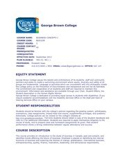 George Brown Course Outlines by Reasonable Grounds For Writing A Business 1220e Make Up 1220