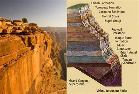 Sinking Of Rock Layers image a collection of sense non sense grand rock layers