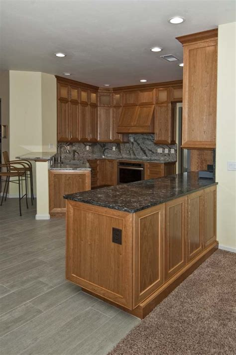 Cherrywood Kitchen Cabinets | natural cherry wood kitchen cabinets roselawnlutheran