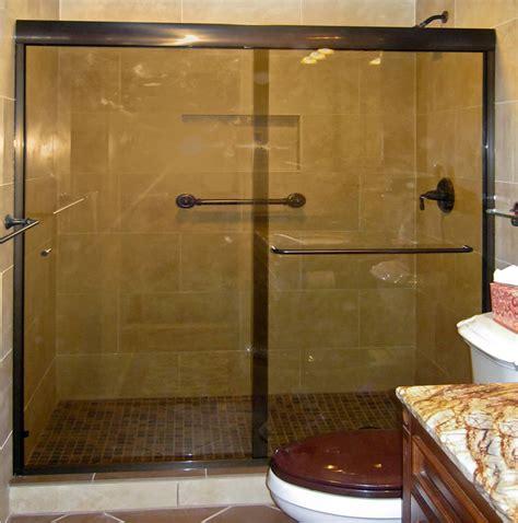 Semi Framed Shower Door by Atlanta Semi Frameless Shower Doors Patial Framed