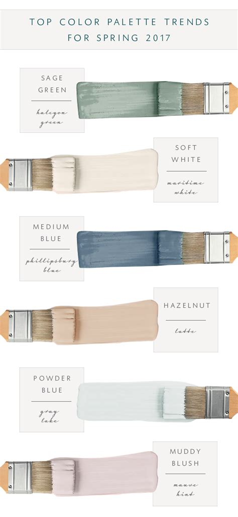 best color palettes 2017 our top color palette trends for spring 2017 coco kelley