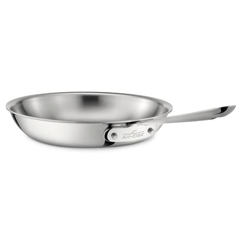 Stainless Steel Pan All All Clad Stainless Steel Fry Pan Reviews Wayfair