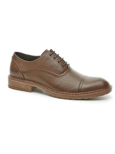 perry ellis shoes perry ellis jess dress shoe in brown for lyst