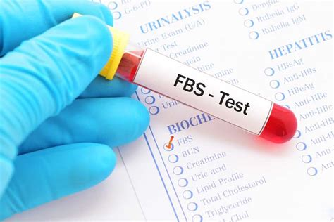 fasting blood test