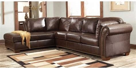 Traditional Leather Sectional Sofa Brown Leather Sectional Sofa