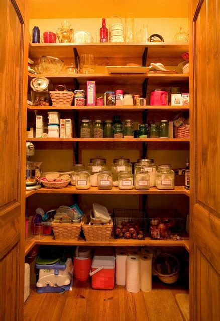 Rustic Kitchen Pantry by Pantry