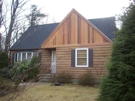 house with cedar siding kenny exteriors inc siding contractor serving central ma worcester county metrowest