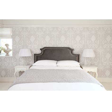 upholstered grey headboard upholstered and french headboards french bedroom company
