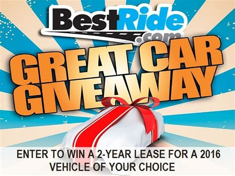 Great Car Giveaway - best ride great car giveaway sweepstakesbible