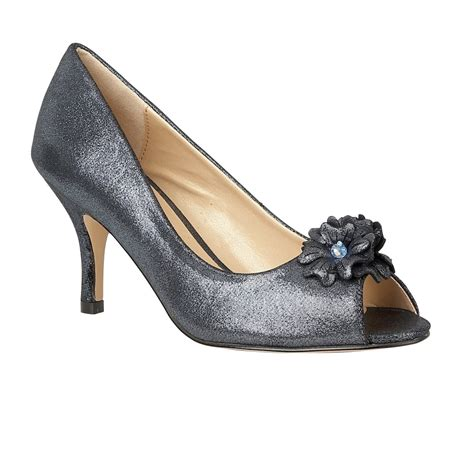 lotus quill graphite open toe court shoes shoes from