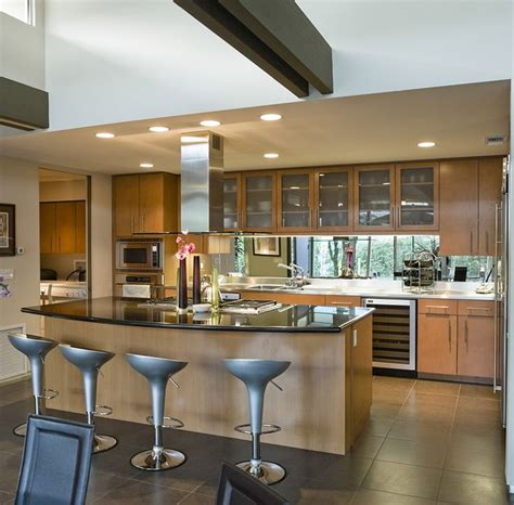 Open Kitchen Island Designs 117 Best Images About Modern Kitchen Designs On Pinterest Modern Closed Kitchens White