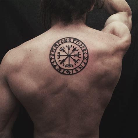 vegvisir tattoo placement vegvisir jailhouseblackink vegvisir tattoo btattooing