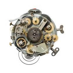 mechanical decor wall clock 3d effect mechanical watch parts wall sticker vintage home decor wall clocks 40 41cm