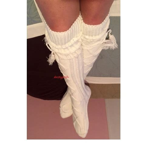thigh high knit socks 28 ugg accessories thick cable knit thigh high