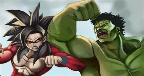Imagenes De Goku Vs Hulk | goku vs hulk sketch preview by spiritualfeel on deviantart