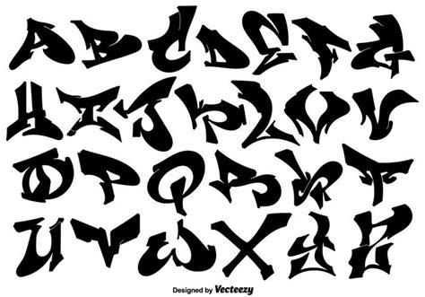 lettere stile graffiti vector hip hop style graffiti letters free