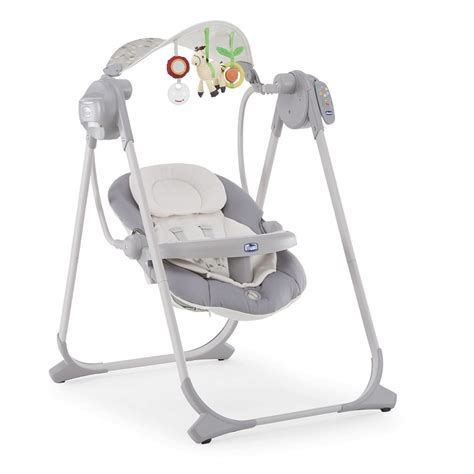 polly swing chicco chicco polly swing up silver huśtawka smyk