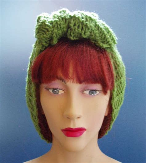 by request 1940s chignon variation 1940s style hand knitted hair tidy in by thebritishhomefront