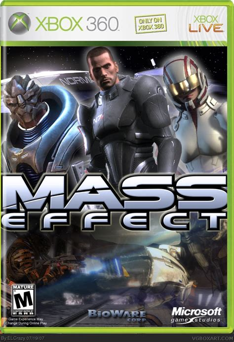 mass effect xbox  box art cover  elcrazy