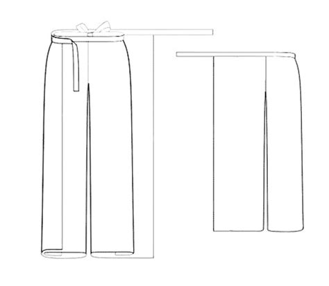 pattern making of palazzo pants bootstrapfashion com designer sewing patterns
