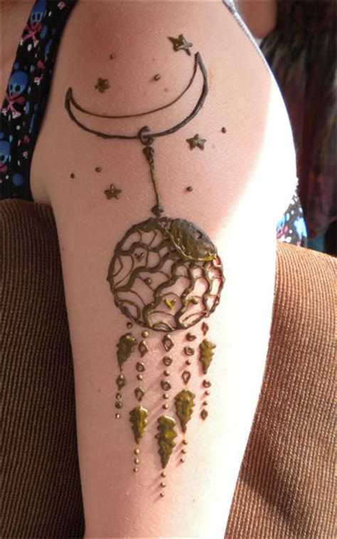 henna sun dreamcatcher by flowerwills on deviantart