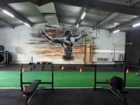 Gym Wall Murals Awesome Gym Interiors Gym Pinterest