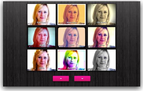 cam web toy fotos webcam toy lets your apply crazy filters to your photos
