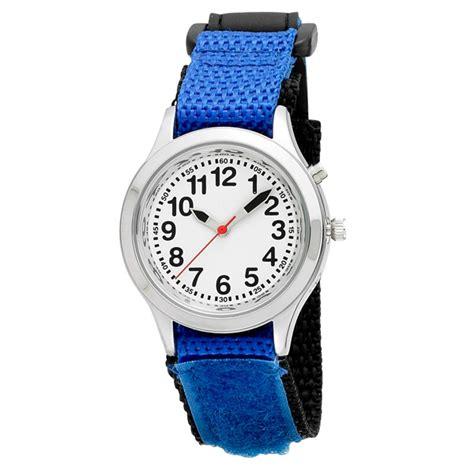 velcro talking alarm blue